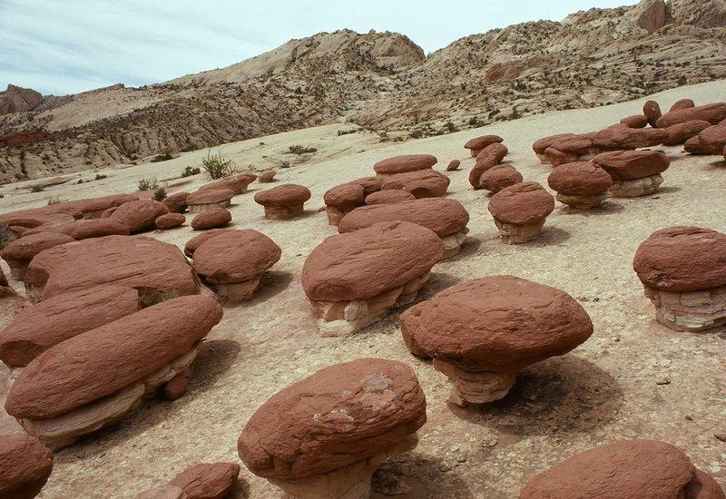 Hamburger Rocks - photo provided by the NPS.