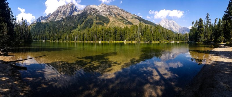 String Lake - One of the best spots in Grand Teton NP.