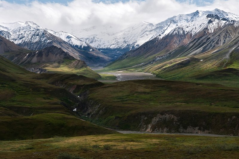 A view from near Eielson Visitor Center, Denali National Park: Photo Credit: NPS Photo/Tim Rains.