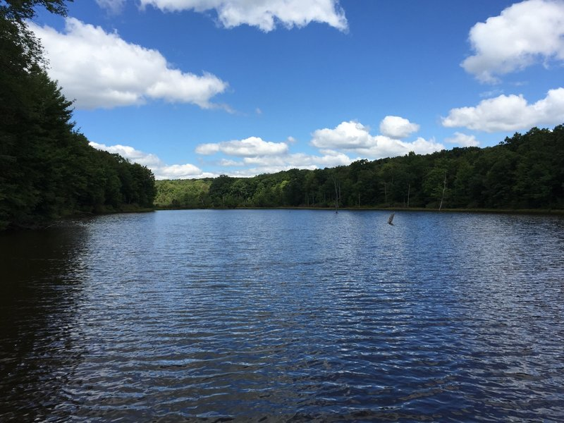Serene waters on the Laurel Highlands Trail