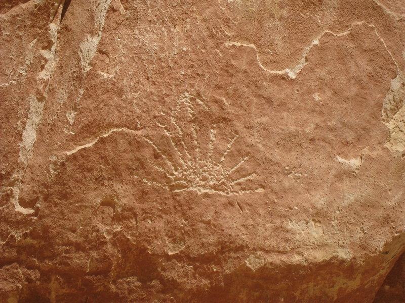 More petroglyphs near the Pioneer Register.