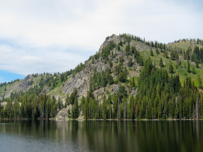 Boulder Lake in Payette National Forest.