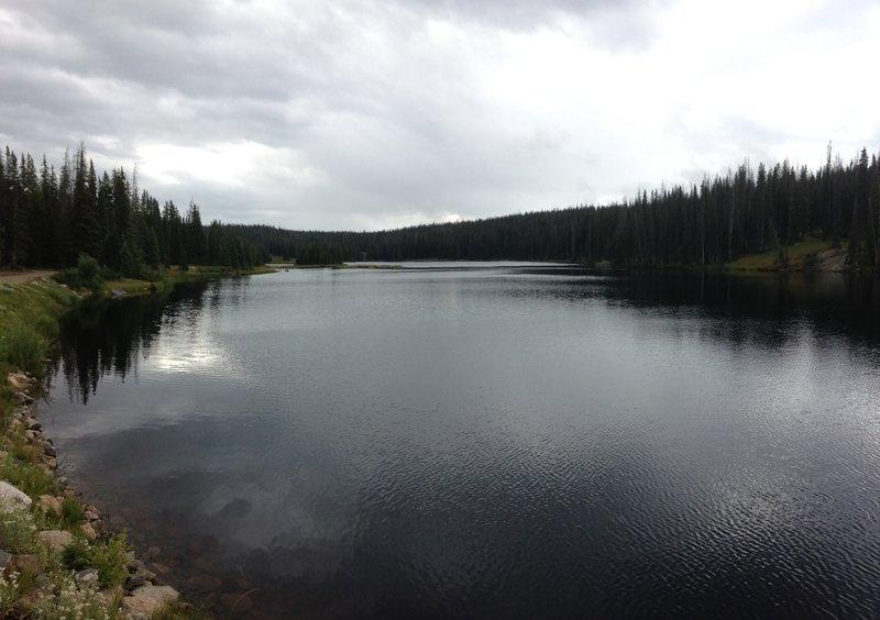 Long Lake off of Fish Creek Falls Trail.
