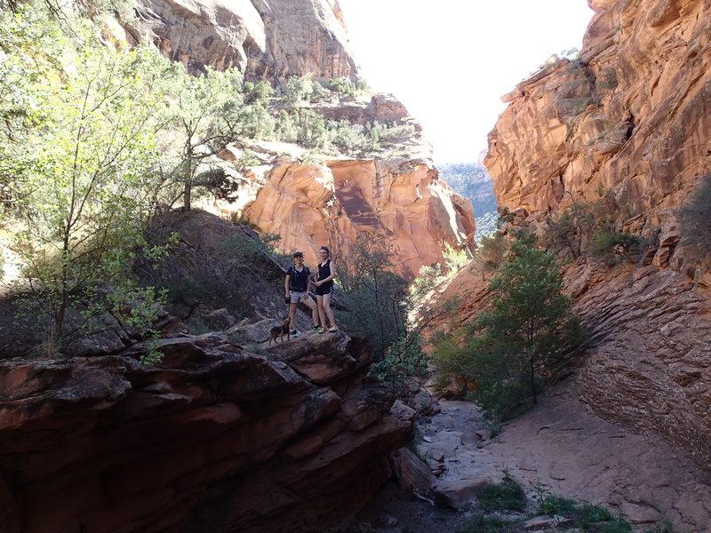 Rough Canyon Trail.