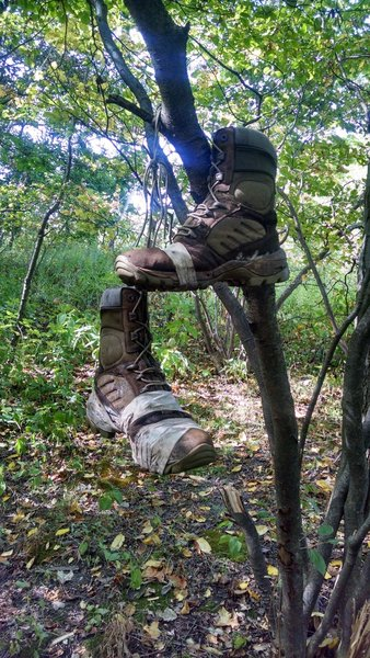 Old Boots Hanging: Appalachian Trail - Fox Gap PA to Columbia Gas Pipeline