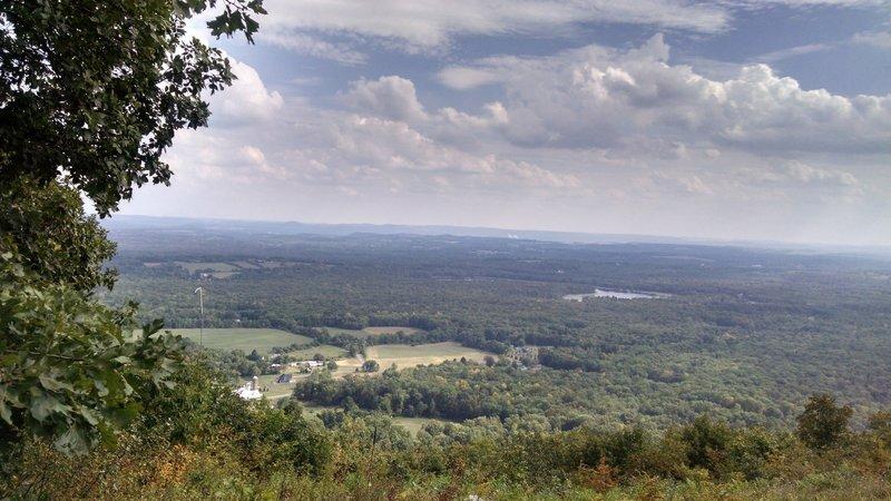 Nice View: Appalachian Trail - Fox Gap PA to Columbia Gas Pipeline