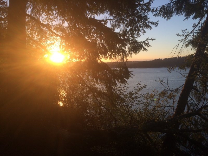 Sunset view from Point Defiance Park
