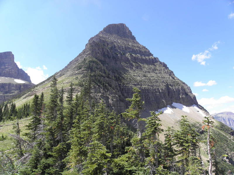 Wahcheechee Mountain as viewed from Stoney Indian Pass.