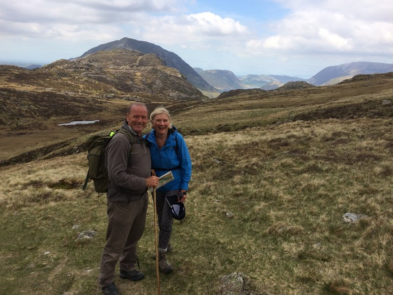 Along the Wainwright's Coast to Coast Walk.