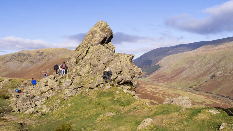Walk to Helm Crag.