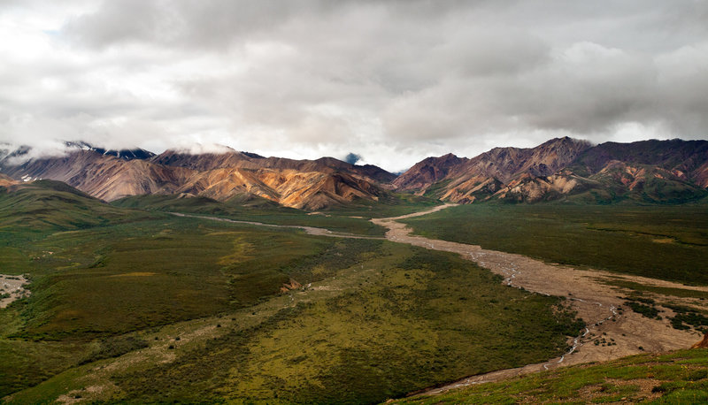 Tolkat River. Denali National Park.