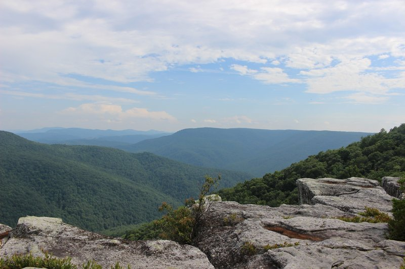 The view at Table Rock.