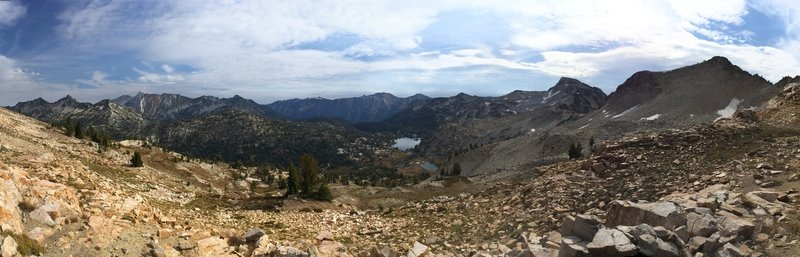 Pano view from Ivan Carper Pass.