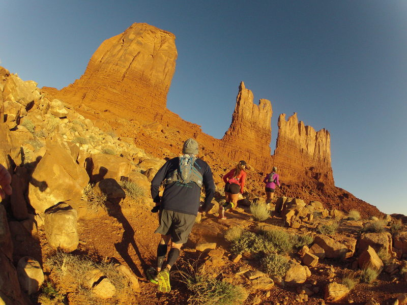 North Valley! Nobody gets to come here without a Navajo guide!