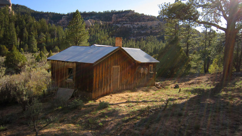 Scorup Cabin. with permission from AcrossUtah
