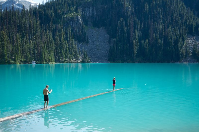 Joffre Lakes.