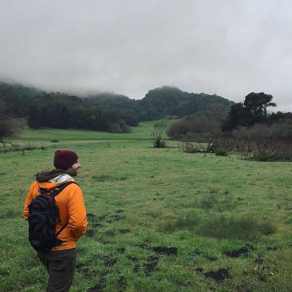 Hiking at Briones Regional Park.