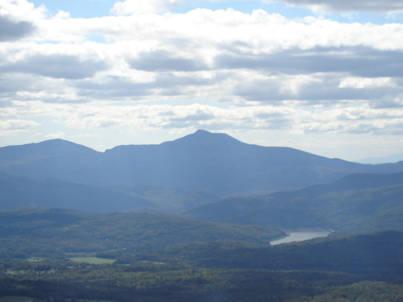 Looking southeast at Camel's Hump. with permission from irishlazz