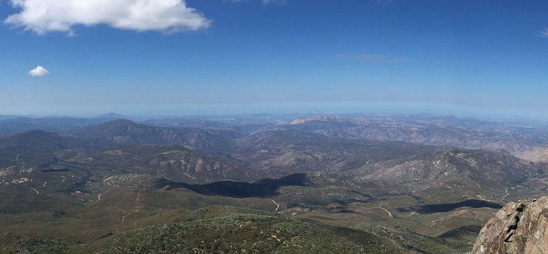 View from Cuyamaca Peak