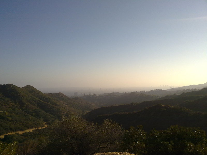 Looking south from the Brush Canyon Trail.