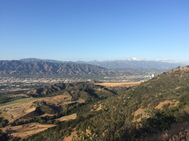 The view from Mt. Lee Drive.