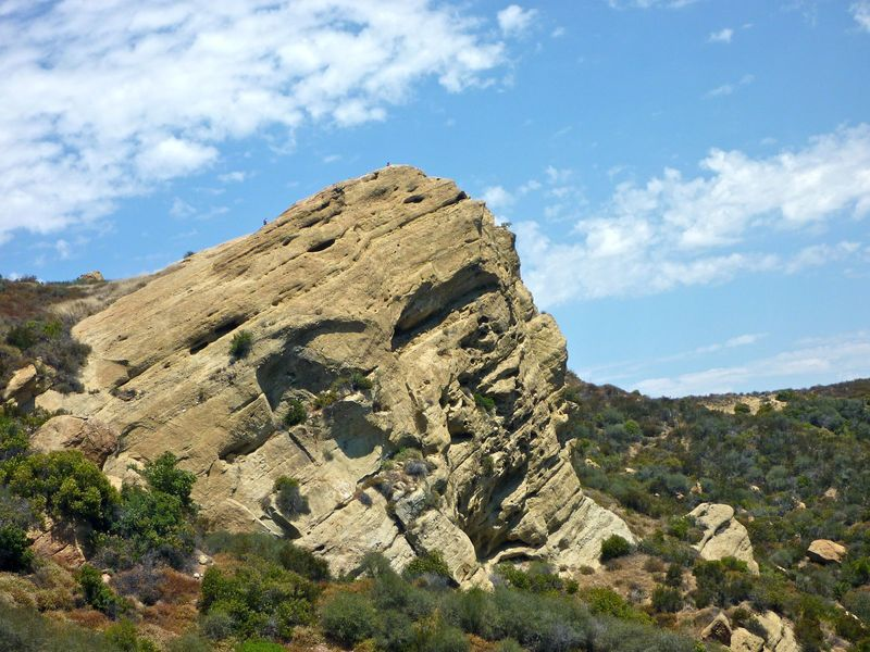 Eagle Rock in Topanga State Park. with permission from laollis