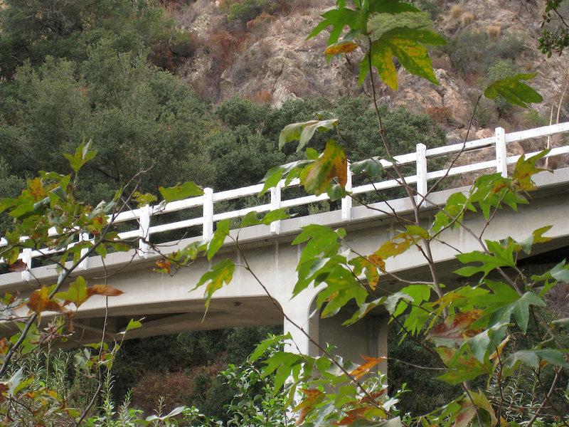 Mt. Wilson Tollroad bridge.