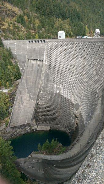 Ross Lake Dam.