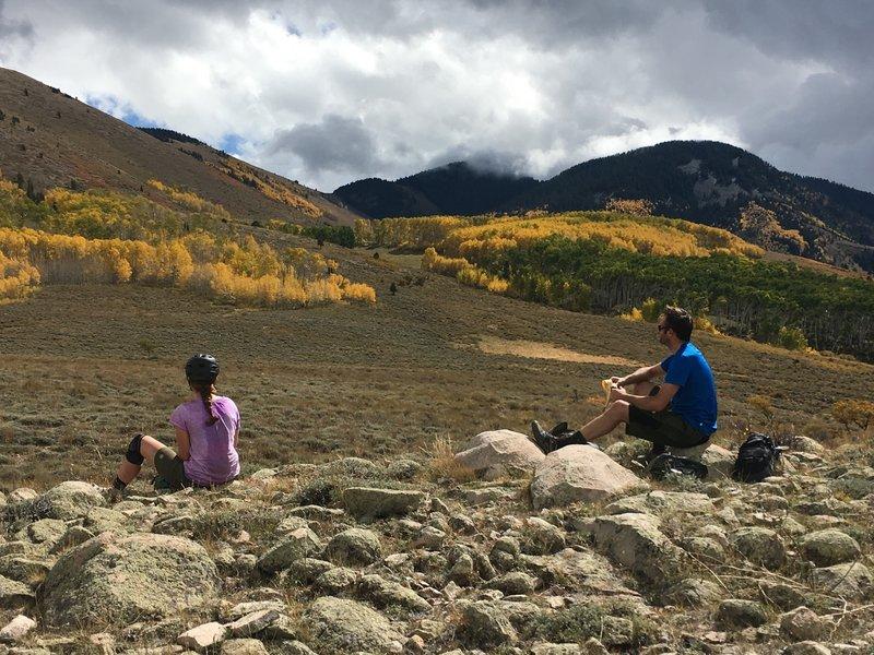 Stunning fall views of Robertson Pasture.