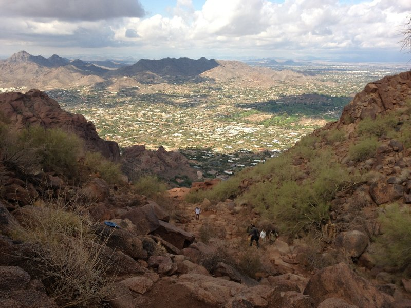 Camelback Mountain, Phoenix, AZ.