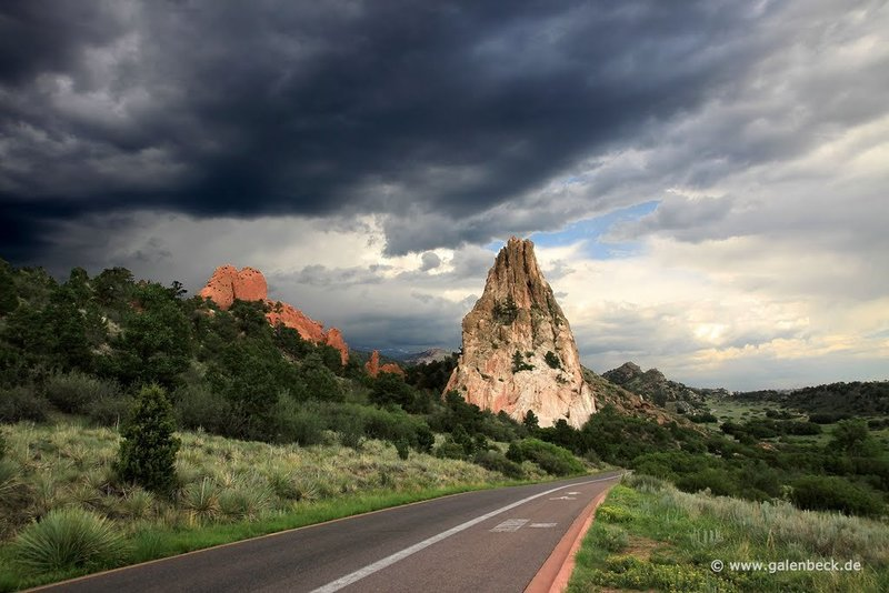 Thunderstorm over Garden of the Gods.