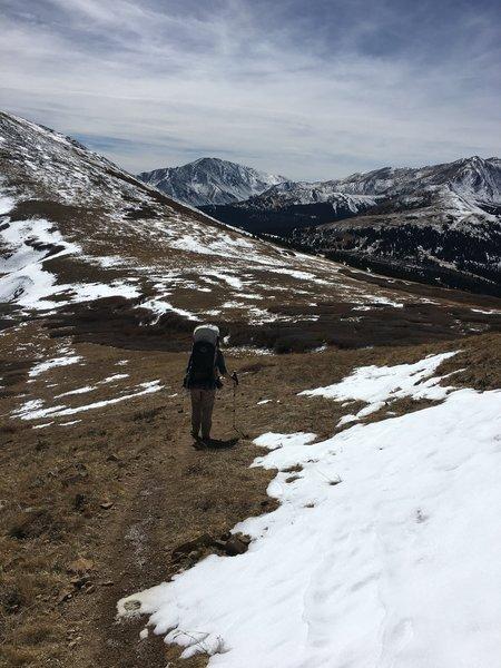 On Black Powder Pass.
