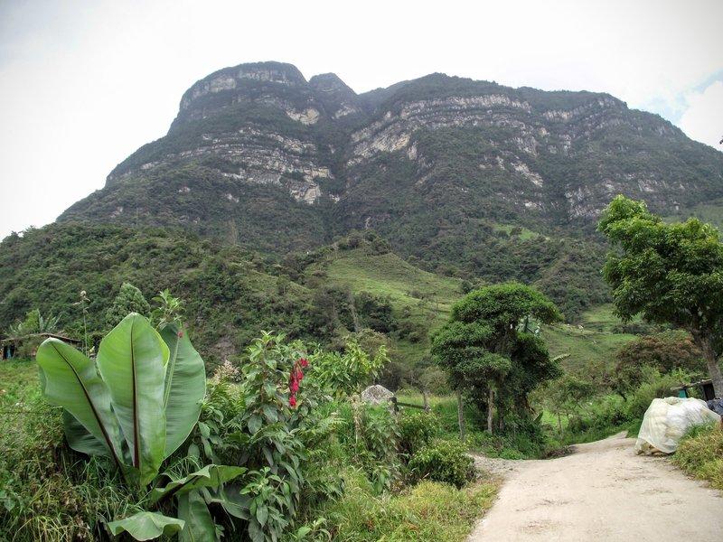 Montaña de La Chorrera.