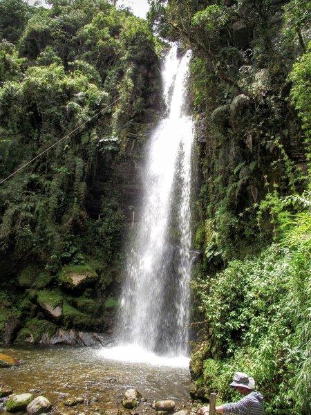 Chiflón Waterfall.
