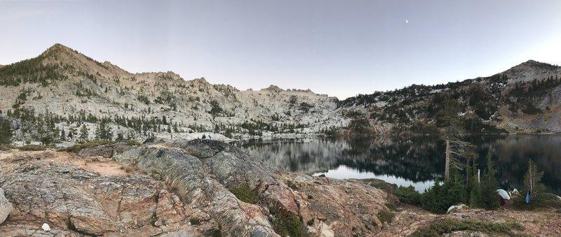 Upper Caribou Lake.