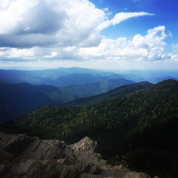 My favorite view from LeConte - Cliff Tops. Best views on Leconte in my opinion!