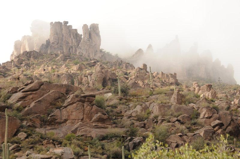 Peralta Canyon Trail.