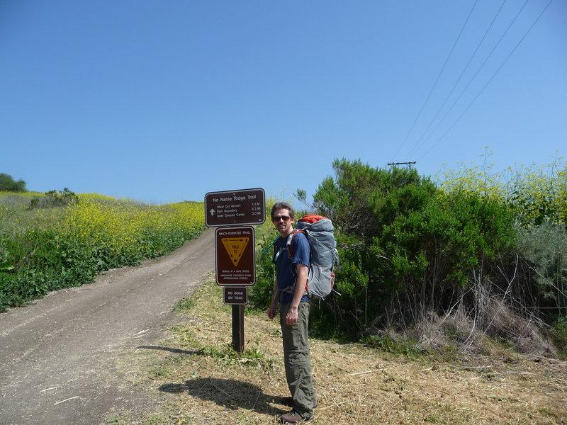 No Name Ridge Trail.
