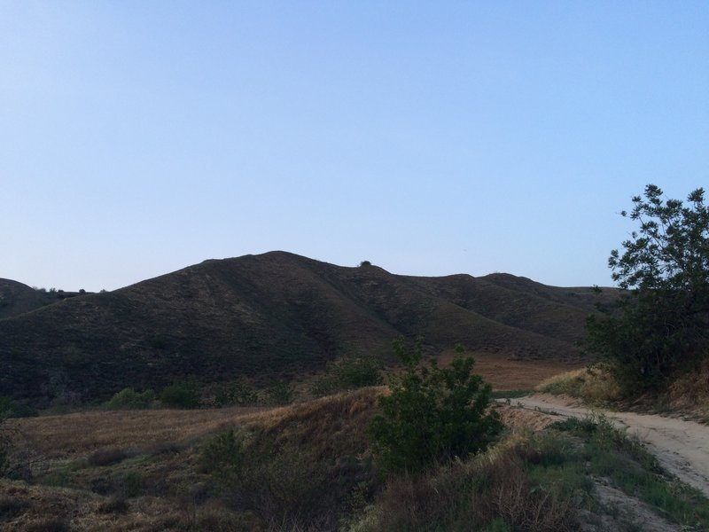 Heading along the Telegraph Canyon Trail.