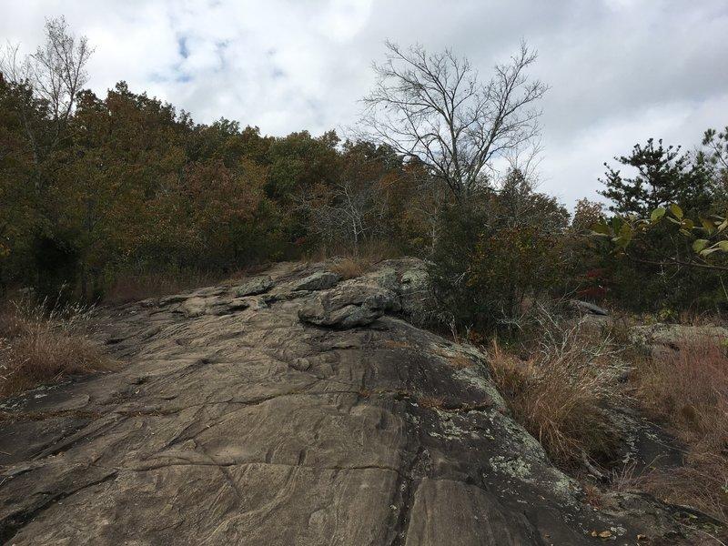 Rocks on Little Kennesaw Mountain.