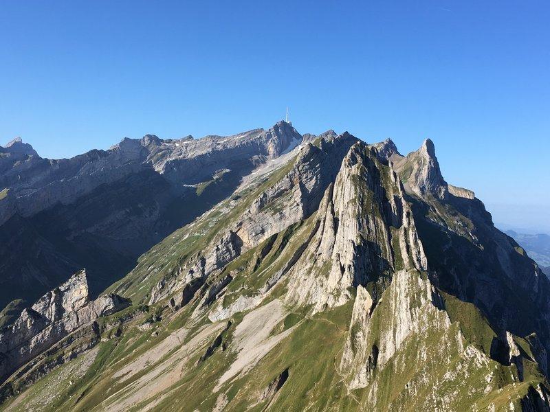 The Alpstein.