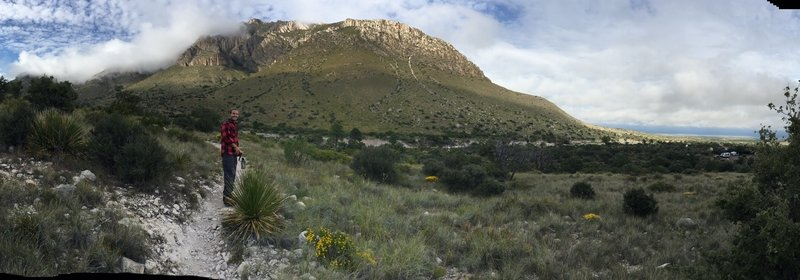 Our first day at Guadalupe Mountain National Park - definitely going back