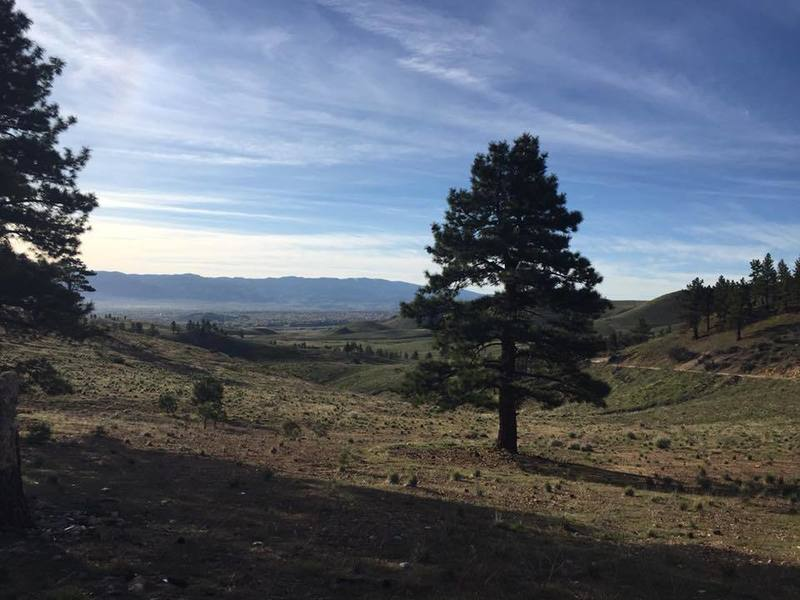 Views of Washoe Valley from the trail.
