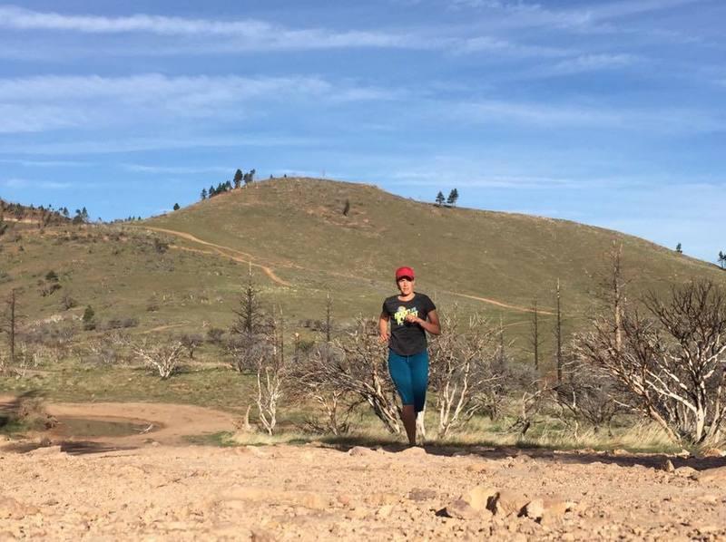Typical rocky trail terrain.