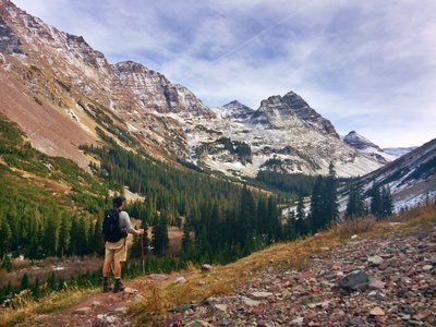 Four Pass Loop Hiking Trail, Snowmass Village, Colorado