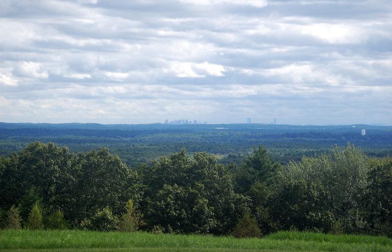View towards Boston.