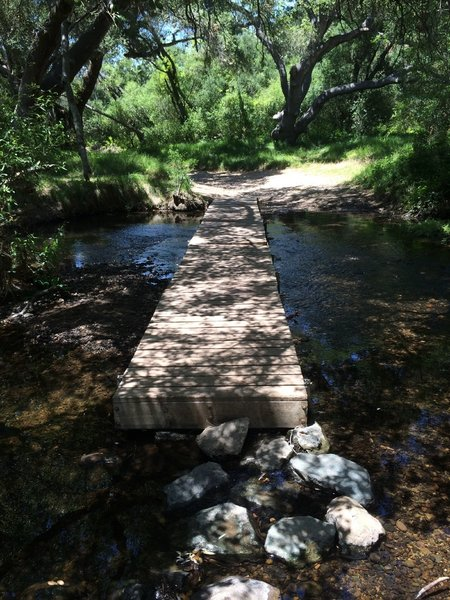 Sycamore creek crossing.