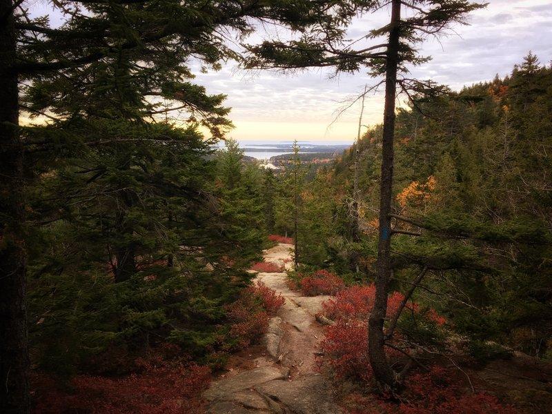 Jordan Cliffs Trail on the way back down.