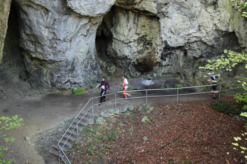 In the open cave Riesenburg. Photo: Erika Fichtl.
