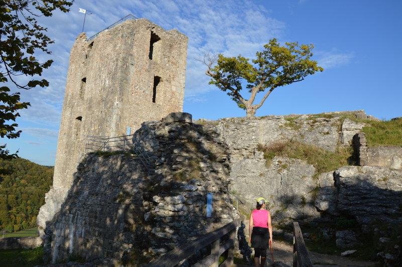 Medieval castle ruin Neideck.